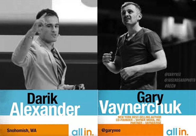 Gary Vaynerchuk and Darik Alexander